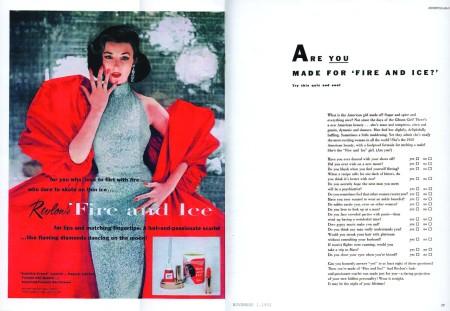 1952 Original Fire and Ice Quiz.