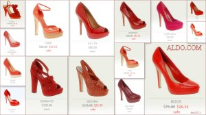 Aldo Red Pumps