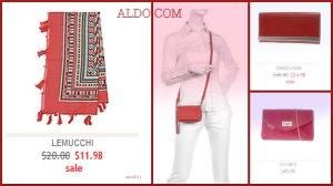 Aldo Red Accessories