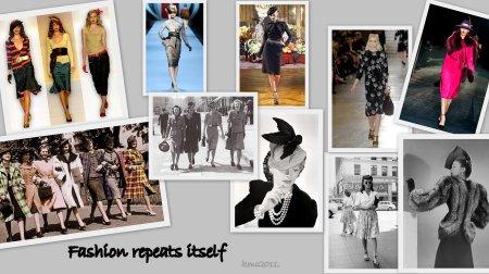 Fashion Repeats Itself, The 1940's.