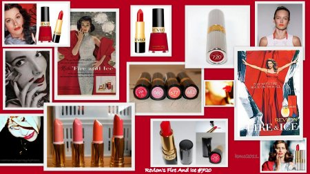 Revlon Fire and Ice Campaign