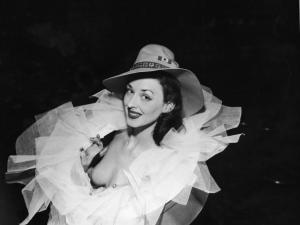 Dorian Leigh, sister of Suzy Parker, super model of 1940s