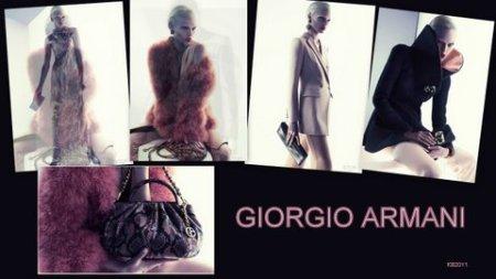 Giorgio Armani does Pink.