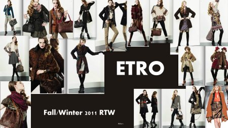 Etro Fall/Winter RTW 2011.