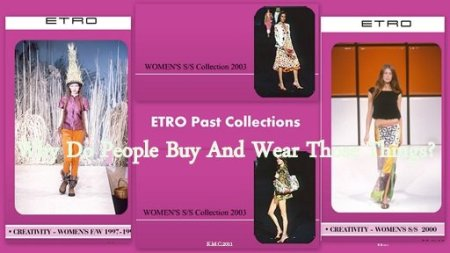 Etro Past Collections.