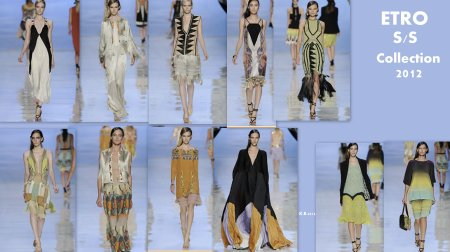 ETRO SS collection 2012.