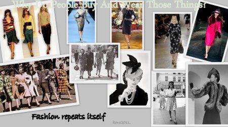 Fashion Repeats Itself.