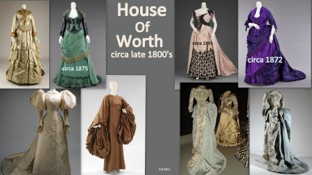 House Of Worth, circa late 1800's.