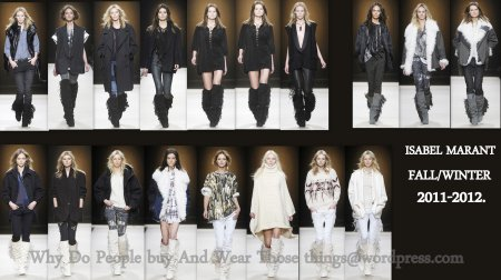 Isabel Marant Fall Winter 2011-2012 Collection.