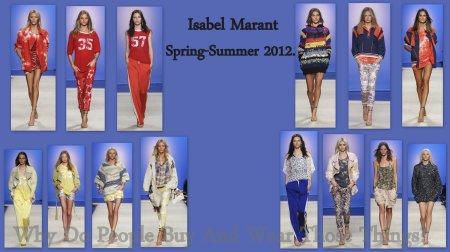 Isabel Marant Spring Summer 2012.