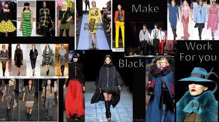 Make Black Work For You!