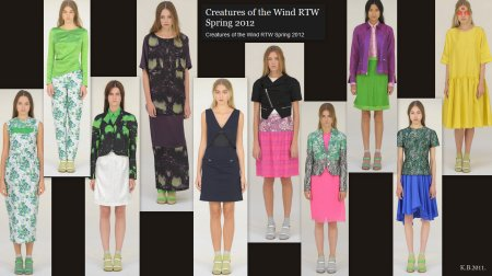 Creatures Of The Wind, Spring RTW 2012.