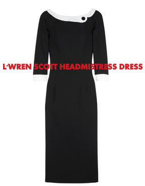 L'Wren Scott Headmistress Dress.