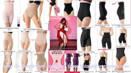 Spanx Products by Sara Blakely.