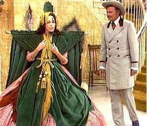 Carol Burnett in Bob Mackie as Scarlett O'Hara.