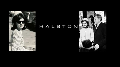 Jackie Kennedy wearing Halston's pill box hat.