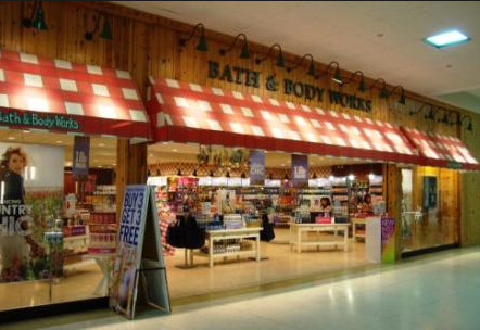 Bath and Body Works Store Front.