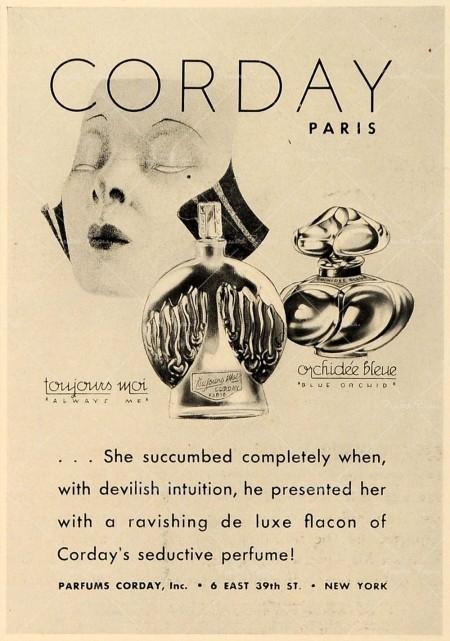 Vintage TouJours Moi Ad.