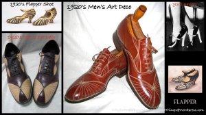 Flapper Shoes.
