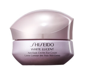 Shiseido White Lucent Anti-Dark Circles Eye Cream.